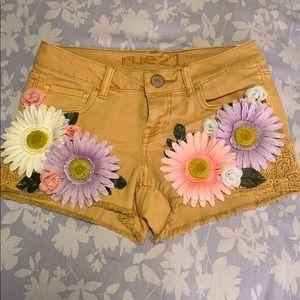 Women's festival short shorts